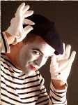 mimes clowns and